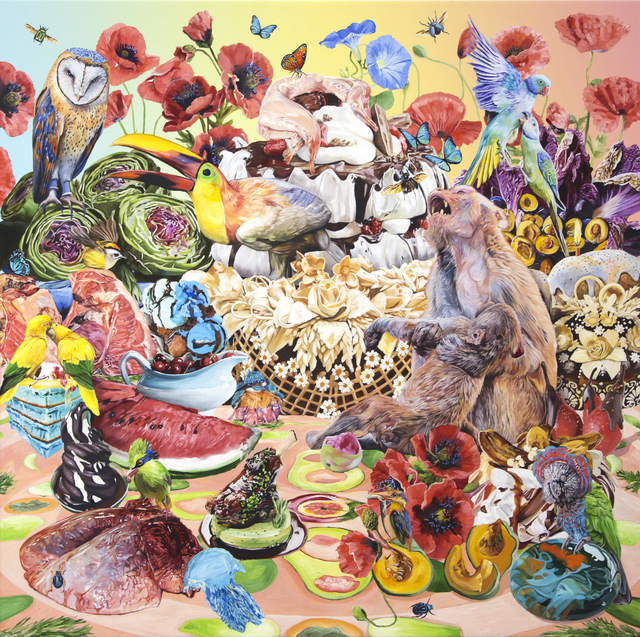 , 'The Tower of Babel, Wedding Bread,' 2019, Hollis Taggart