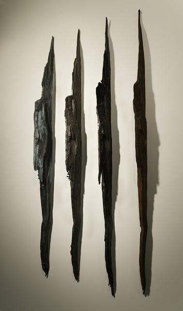 """, 'Wall Strikes I - 42°45'49.8""""N 72°10'03.4""""W,' 2010-2013, C. Grimaldis Gallery"""
