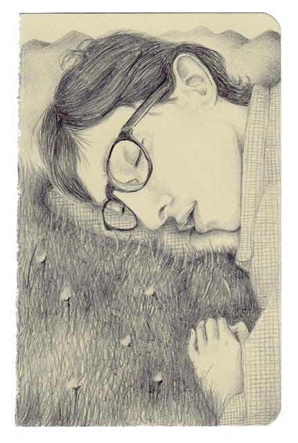 Guillermo Martin Bermejo, 'The Sleeping Poet', 2019, James Freeman Gallery