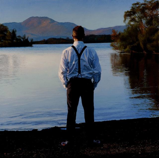 , 'Loch Lomond, Last Sun ,' 2017, Pontone Gallery