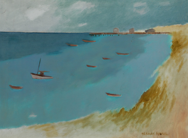 , 'Provincetown Bay,' 1984, Debra Force Fine Art