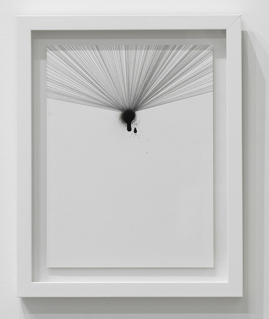 , 'Untitled (Drips and Lines 3),' 2016, Diane Rosenstein