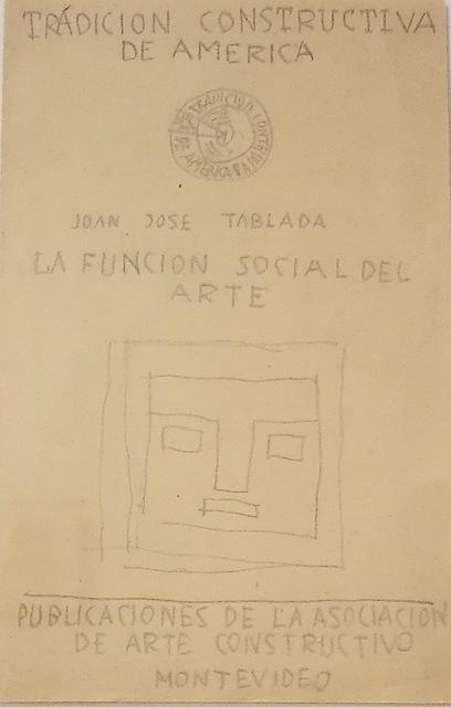 , 'Tradición Constructiva de América,' ca. 1935, Galería de las Misiones