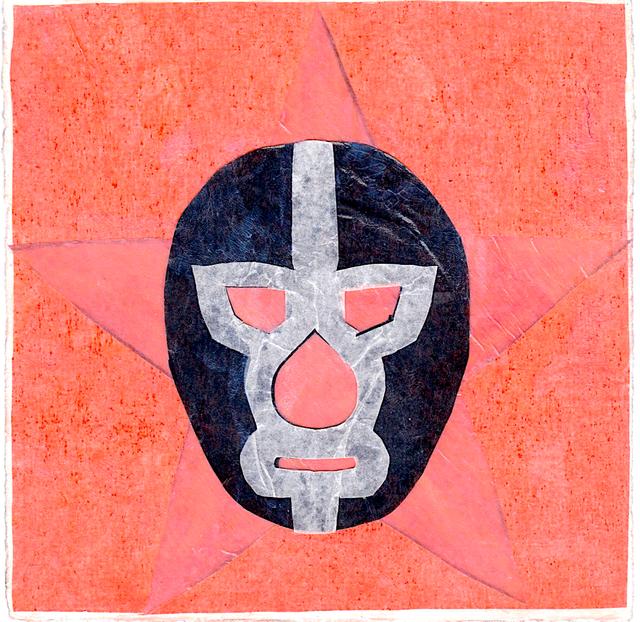 Victoria Behm, 'La Luchera, Orange/Black', ca. 2012, 440 Gallery