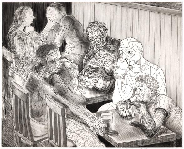 Nicole Eisenman, 'Drinks At Julius', 2012, Harlan & Weaver