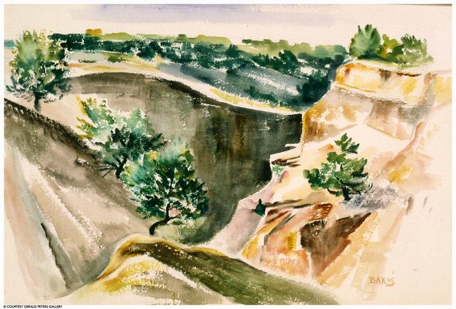 Jozef Bakos, 'Canyon Entrance', Gerald Peters Gallery
