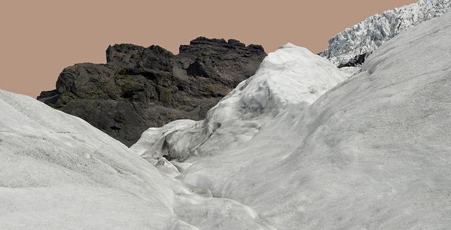 , 'Glacier with Pink Sky / Svinafellsjokull,' 2012-2013, C. Grimaldis Gallery