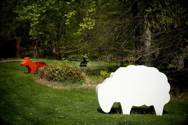 Julian Opie, 'Sheep, Fox, Rabbit', 2007, Wexler Gallery