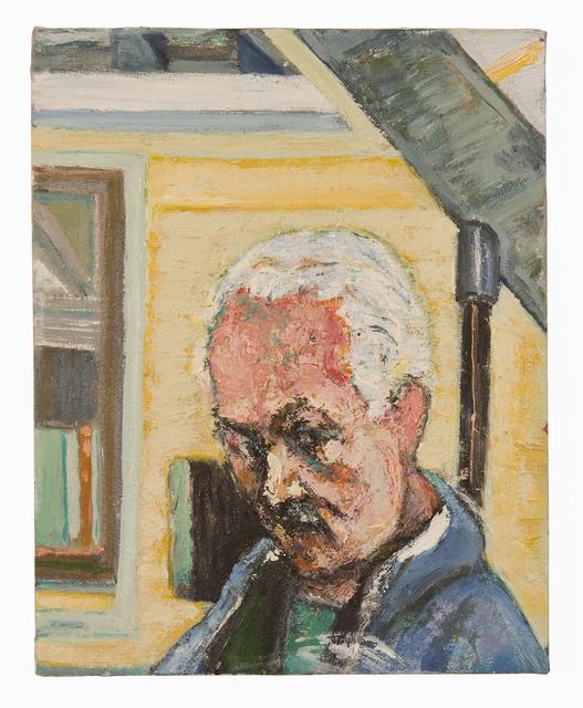 Bernard Chaet, 'Self Portrait in Studio', 2005, FRED.GIAMPIETRO Gallery