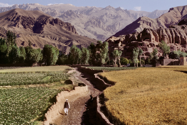 , 'Farmer Walks Through Field, Afghanistan,' 2006, Etherton Gallery