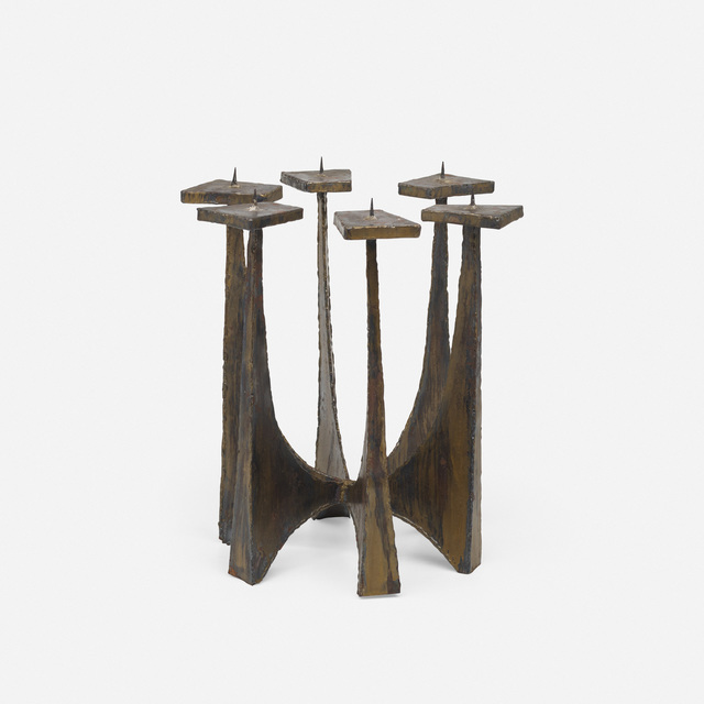 Paul Evans, 'Candelabrum', c. 1970, Wright