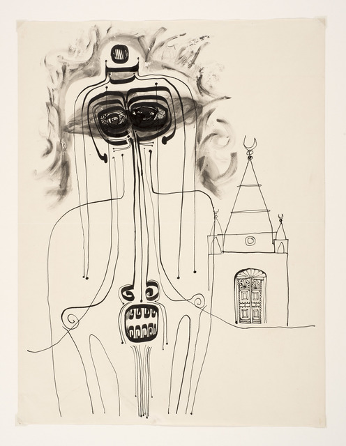 , 'Mosque and Figure,' 1960-1962, Vigo Gallery