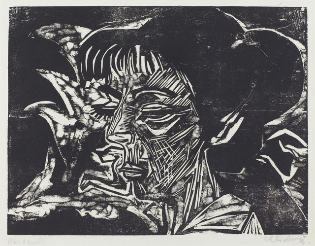 Ernst Ludwig Kirchner, 'Fanny Wocke', 1916, National Gallery of Art, Washington, D.C.