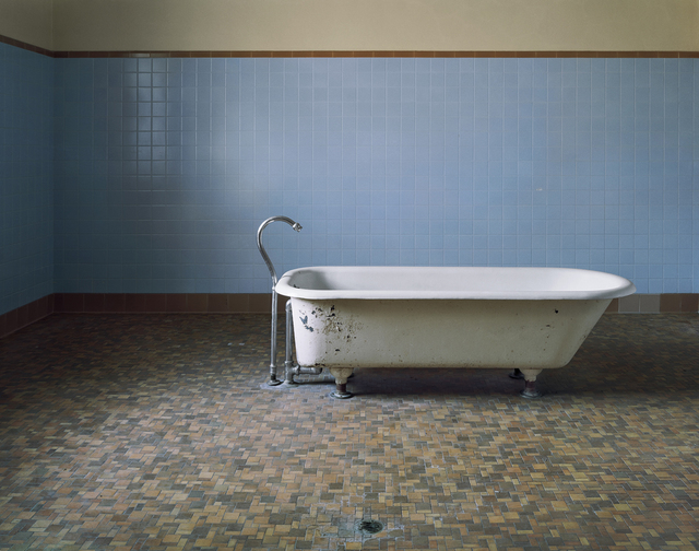 , 'Patient Bathtub, Fairfield State Hospital,  Newtown, Connecticut,' 2003, Benrubi Gallery