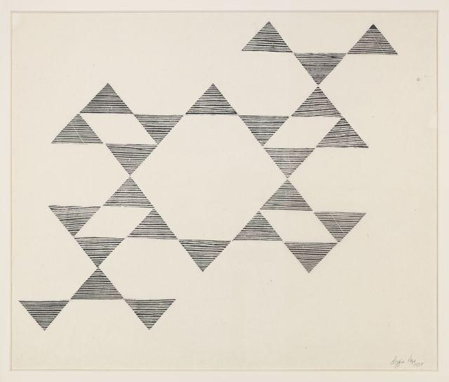 Lygia Pape, 'Tecelar', 1955, Hauser & Wirth