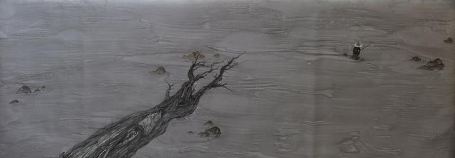 Zhenhua He, 'River Crossing Plan 2015 No. 23', 2015, Painting, Ink on silk, Huafu Art Space