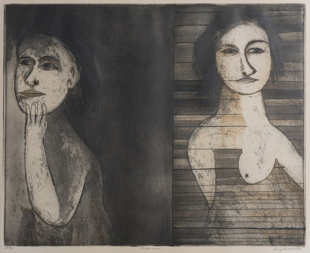 George Baldessin, 'Performers', 1974, Angela Tandori Fine Art
