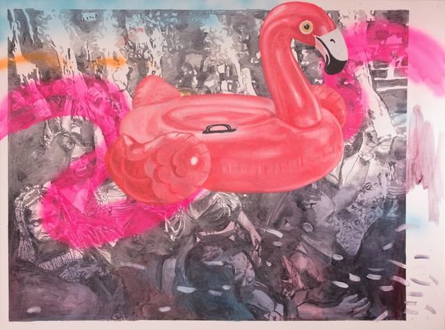 , 'Flamingo ,' 2019, 99 Loop Gallery