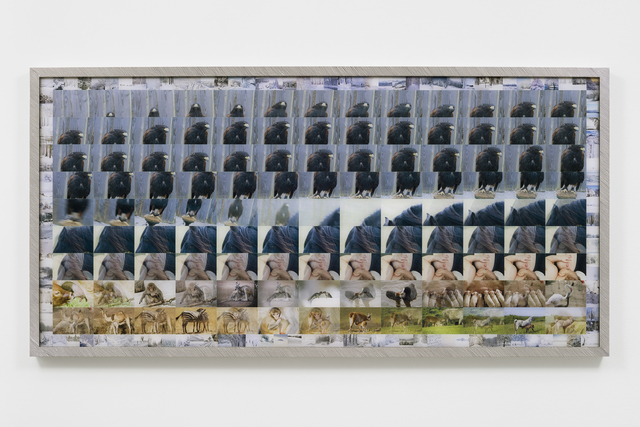 , 'Almost Like Rebar No. 6,' 2018, Tanya Bonakdar Gallery