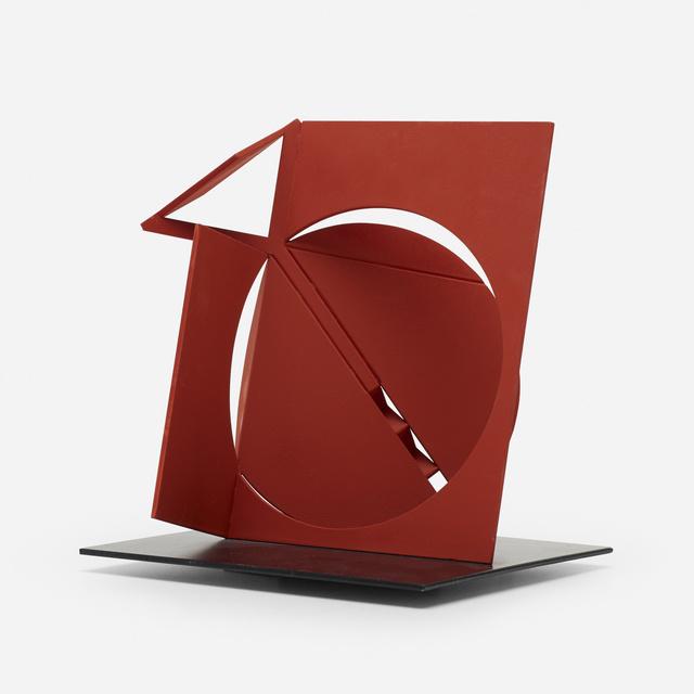 Fletcher Benton, 'Folded Square Alphabet Y', 2013, Sculpture, Enameled steel, Rago/Wright