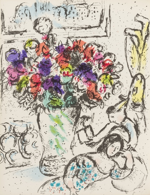 Marc Chagall, 'Chagall Lithograph I-IV', 1960-1974, Print, The set of four volumes, Forum Auctions