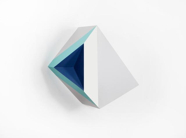 , 'Origami 3, #1,' 2015, River