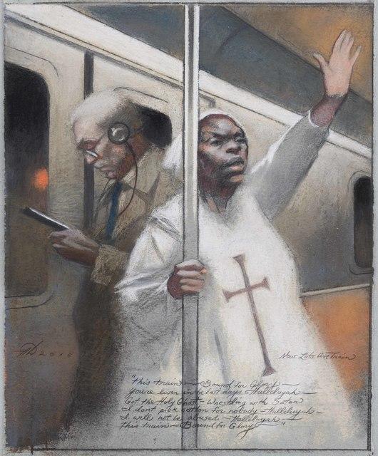 , 'Underground Preacher,' 2016, Gerald Peters Gallery