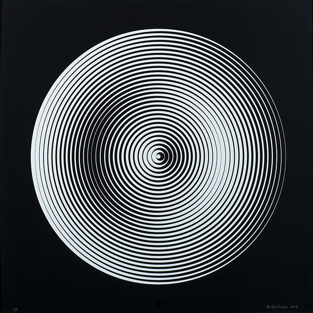 Marina Apollonio, 'Dinamica circolare 008', 2008, Il Ponte