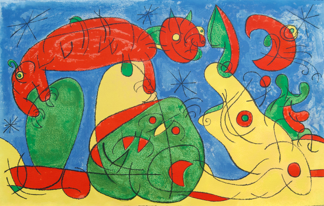 Joan Miró, 'The Night, the Bear III, from: Series for King Ubu', 1966, Gilden's Art Gallery