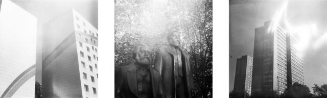 Florian Reischauer, 'A Pieces of Interaction - Pieces of Berlin (Karl Marx, Friedrich Engels)', 2019, Photography, 3 C-Prints, Instantdreams