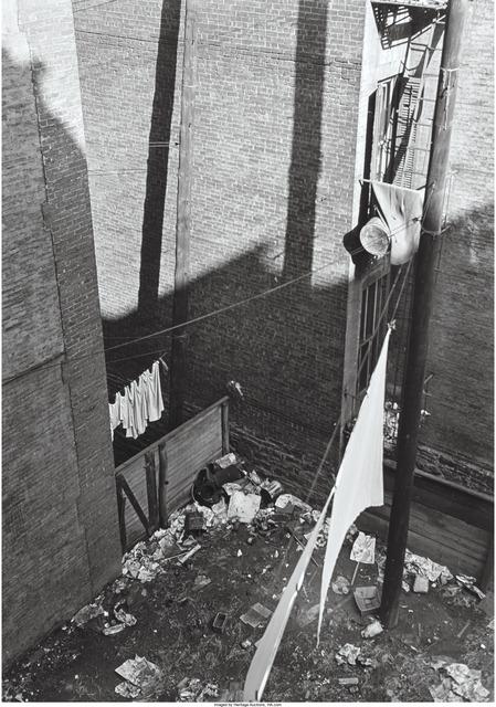 Aaron Siskind, 'Backyard, Harlem', 1940, Heritage Auctions