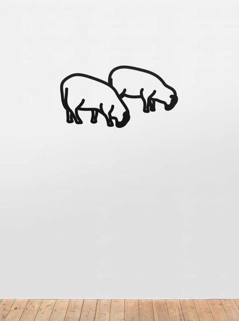 , 'Sheep (Steelcut),' 2015, Aurifer AG