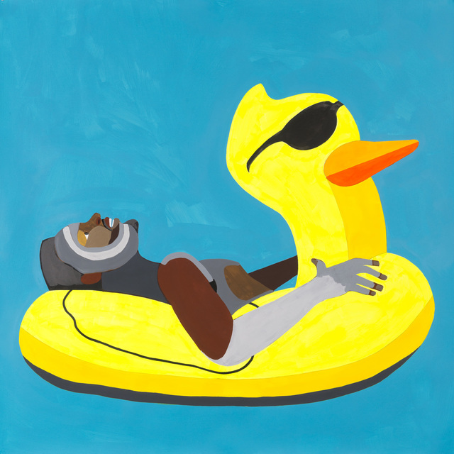 , 'Floater 50 (ducky with glasses),' 2017, Galleria Anna Marra