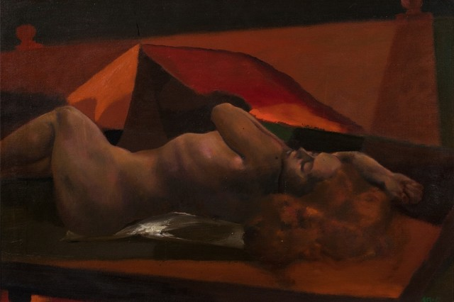 Ugo Attardi, 'Laying woman', Finarte