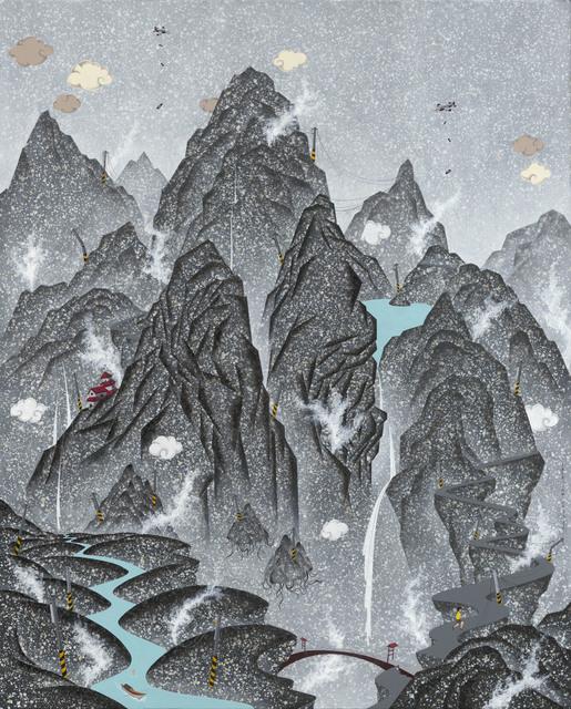 , 'Unfamiliar Landscape- A Smokey Runway,' 2015, Aki Gallery