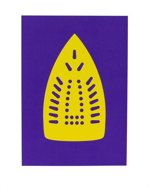 Willie Cole, 'Complementary Soles (Yellow/Purple)', 2012, Highpoint Editions