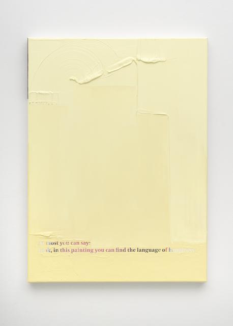 , 'Frieze no. 173,' 2018, PPC Philipp Pflug Contemporary