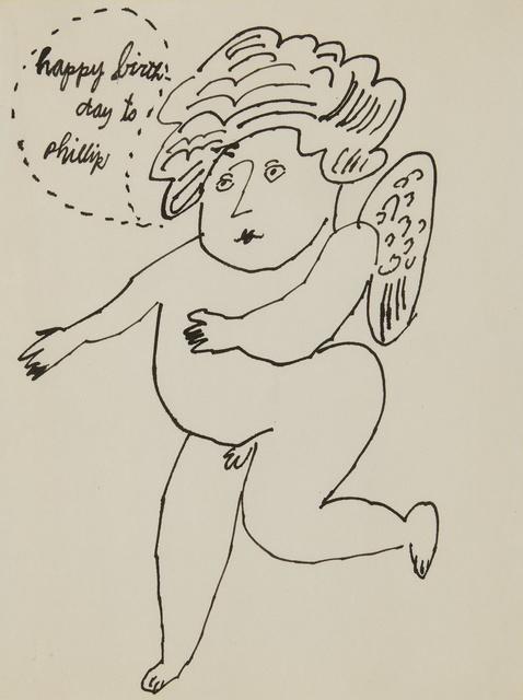 Andy Warhol, 'Angel (Happy Birthday to Phillip)', circa 1995, Sotheby's