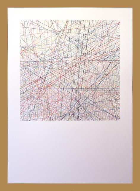 Willem Besselink, ' Romankleuren - Zilver - Adriaan van Dis', 2019, NL=US Art