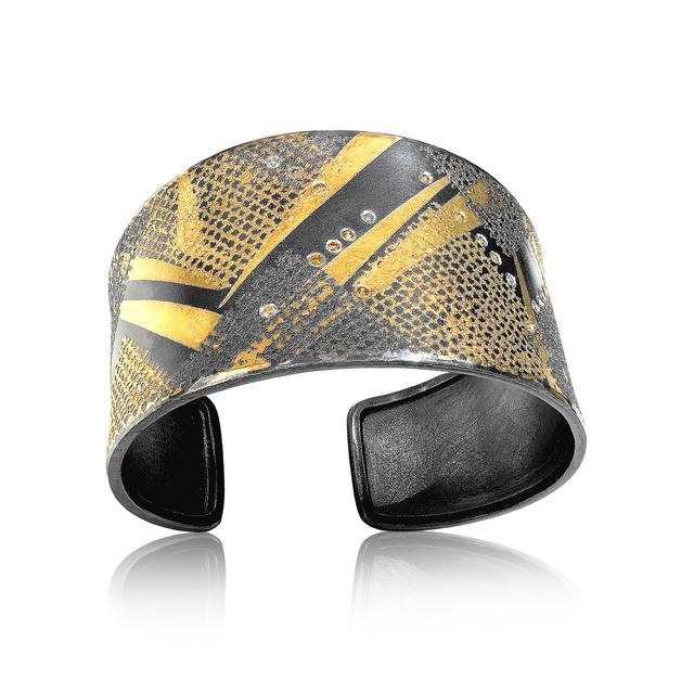 , 'Fancy Diamond Matrix Cuff Bracelet,' 2017, Szor Collections