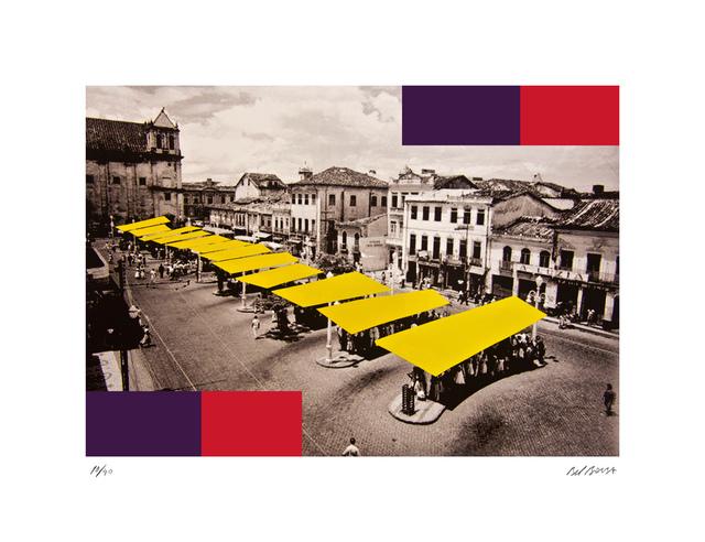 , 'Yellow Terminal,' 2014, Fils Fine Arts