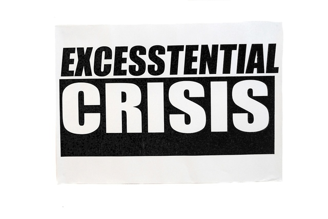 , 'Excesstential Crisis,' 2016, The Residence Gallery