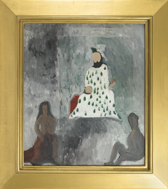 , 'Untitled (King with Subjects),' 1963, Vallarino Fine Art