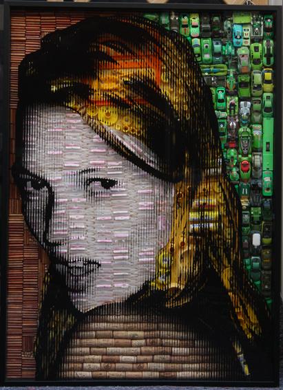 , 'Kate Moss Profile,' , art&emotion Fine Art Gallery