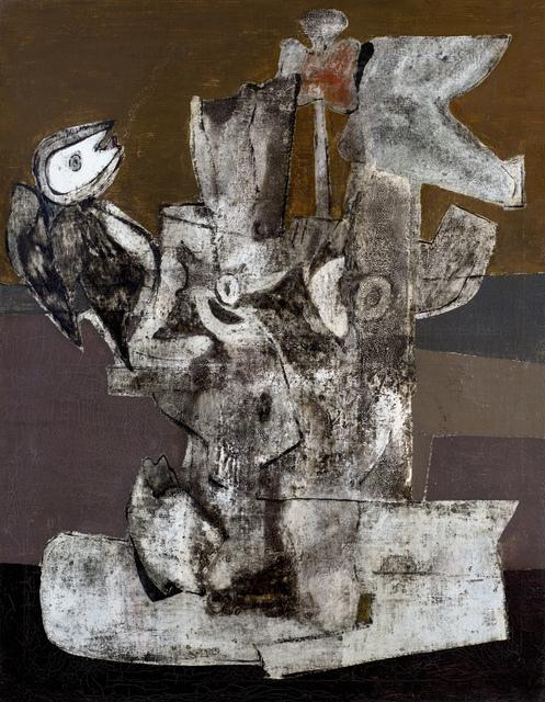 , 'Der Beginn Des Aufruhrs (Beginning of the Revolt),' ca. 1943, Ben Uri Gallery and Museum