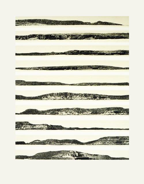 , 'Isla Espíritu Santo 1,' 2012, Galería La Caja Negra