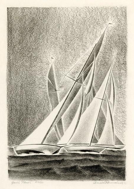 , 'Yacht Races (Grand Lake, Colorado),' 1933, Harris Schrank Fine Prints