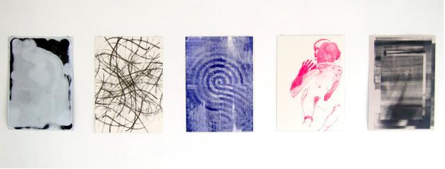 Alexandra Hopf, 'Grid's World Print Portfolio', 2013, Print, Oil and acrylic screen-print on archival paper, Locust Projects
