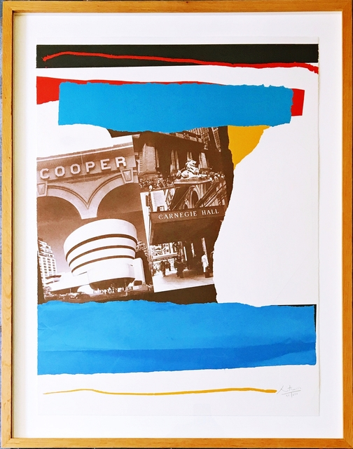 Robert Motherwell, 'New York Cultural Institutions (Engberg/Banach: 293; Belknap: 260)', 1982, Alpha 137 Gallery