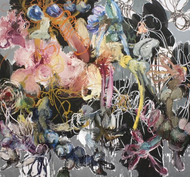 Angel Ricardo Ricardo Ríos, 'Alicia en sus fantasías del jardín francés', 2017, Madison Gallery
